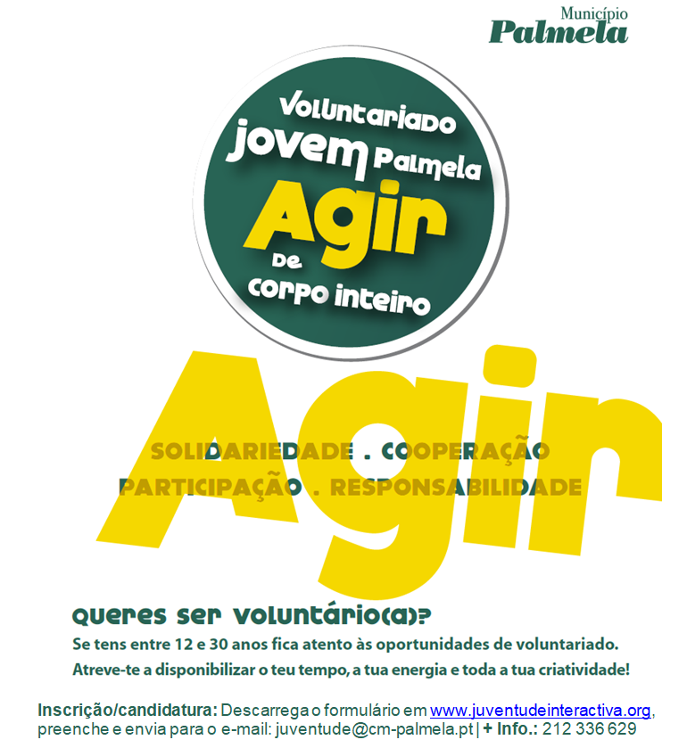 Cartaz Voluntariado